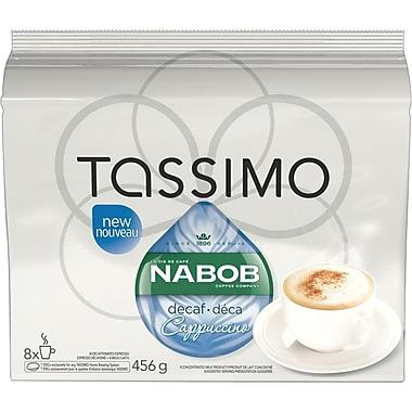 Nabob – Recharges T-Disc, Cappuccino décaféiné