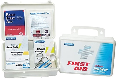 PhysiciansCARE® First Aid Kits, Office Kit for 25 People, 131 Pieces