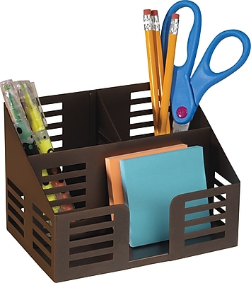 Staples Punched Metal Desktop Organizer (21512)
