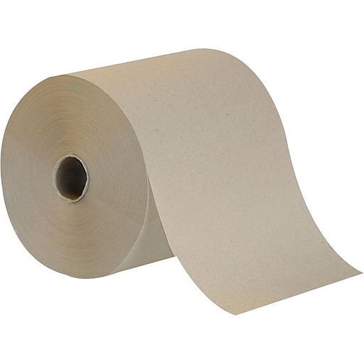 brighton professional hardwound paper towels 1 ply natural 7 8