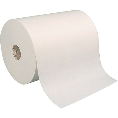 paper towel. Brighton Professional  Hardwound Paper Towel Rolls White 1 Ply 7 8 trade
