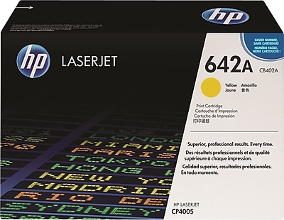 HP 642A Yellow Toner Cartridge (CB402A)
