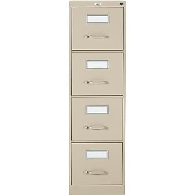 Staples® - Classeur vertical format lettre, 4 tiroirs, sable