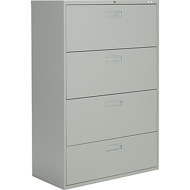 Staples® Lateral File Cabinets, 4-Drawer