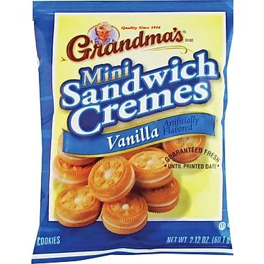 Grandma's® Mini Vanilla Creme Cookies, 60 Bags/Box