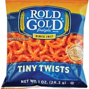 Rold Gold® Tiny Twists Pretzels, 1 oz. Bags, 88 Bags/Box (FRI32430)