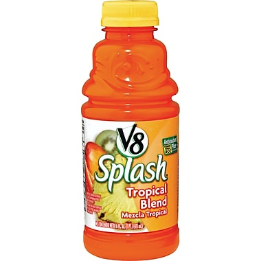 V8® Splash® Juice Drinks, 16 oz. Bottles, 12/Pack