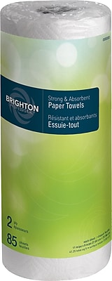 Brighton Professional™ Kitchen Roll Towel, 2-ply, Full Size, 85 sheets/Roll, 30 rolls/case, (21810CT)