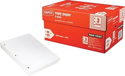 Staples® Copy Paper, 8 1/2