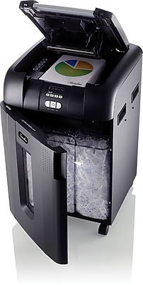 Swingline® Stack-and-Shred™ 600X Auto Feed Shredder, SmarTech™ Enabled, Super Cross-Cut, 600 Sheets (1757577)