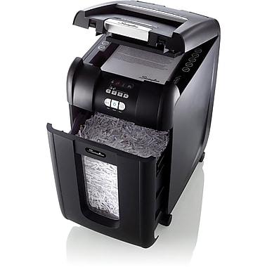 Swingline® Stack-and-Shred™ 300X, 1757576, 300 Sheets, Super Cross-Cut, Auto Feed Shredder, Black