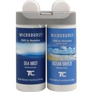 Recharge pour désodorisant double Microburst Duet, bruine de mer et brise océanique