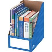 Bankers Box® - Porte-magazines, 8 po, bleu, paq./3