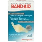 Band-Aid – Pansements adhésifs en plastique guérison avancée, régulier, paq./10