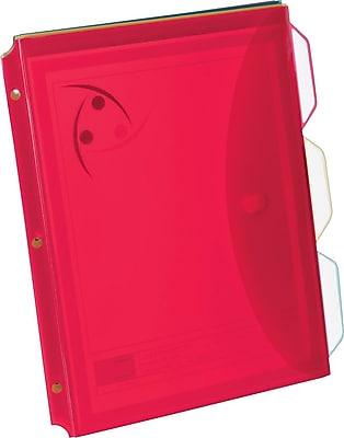 Oxford® Storage Envelope, 3-Tab Dividers, 3/Pack
