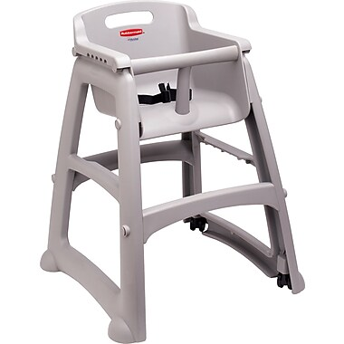 Rubbermaid® - Chaise haute, siège solide pour jeunes