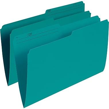 Staples® Coloured File Folder, Legal Size, 8-1/2