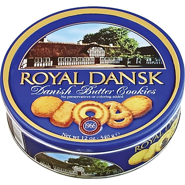 Royal Dansk Butter Cookies, 12 oz.