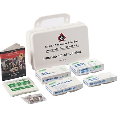 St. John Ambulance First Aid Kit, Ontario 1-5 Employees
