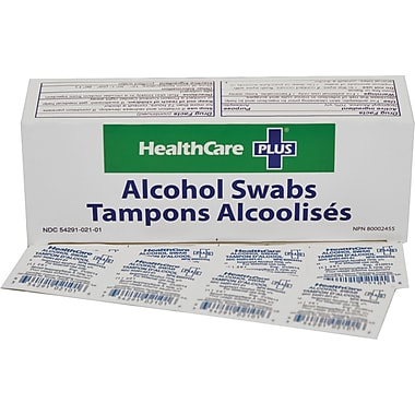HealthCare Plus - Tampons d'alcool