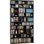 Atlantic® Games Media Tower Cabinet, Espresso Finish