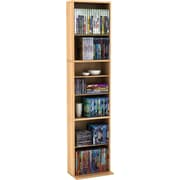 Atlantic® Summit Multi-Media Tower Cabinet, Maple Finish