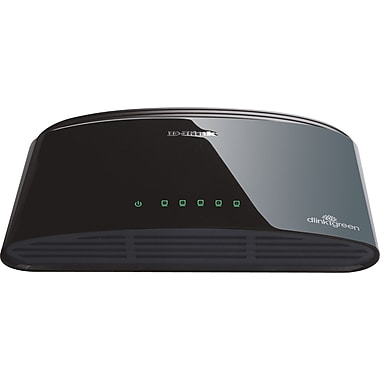 D-Link 5-Port 10/100 Desktop Switch (DES-1005E)
