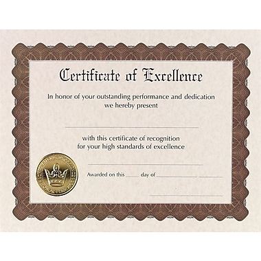 Great Papers® Certificate of Excellence, 18/Pack