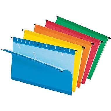 Pendaflex® - Chemises suspendues SureHook®, format légal, 8 1/2 po x 14 po, couleurs variées