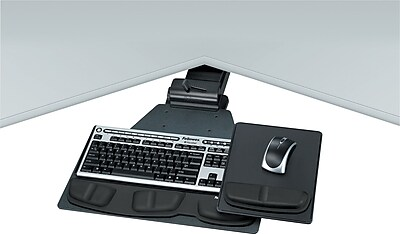 Fellowes Professional Series Executive Corner Keyboard Tray