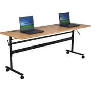 "Balt Economy 60"" Flipper Training Table, Teak"