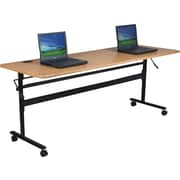 "Balt®Economy 72"" Flipper Training Table, Teak"