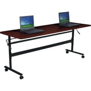 "Balt Economy 72"" Flipper Training Table, Mahogany"