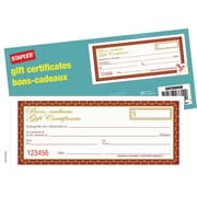 Staples Gift Certificates, Bilingual
