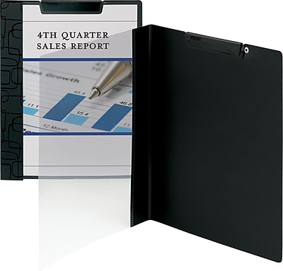 Smead® Accent Series Report Cover, Black