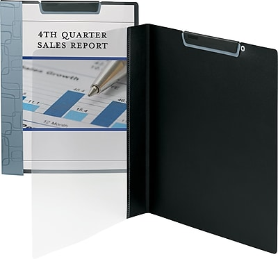 Smead Accent Series Report Covers, Blue Gray, 8 1/2