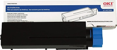 Okidata Black Toner Cartridge (44574901), High Yield