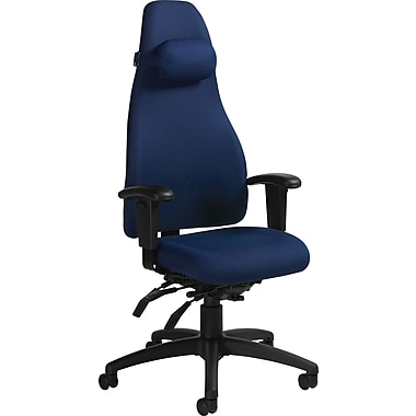 Global® - Fauteuil basculant Obusforme, bleu