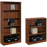 Altra™ Chadwick Collection 3 and 5-Shelf Bookcases, Virginia Cherry