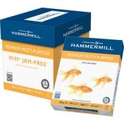 """Hammermill Premium Multipurpose Paper, 8 1/2"""" x 11"""", 24lb., 2,500/Case"""
