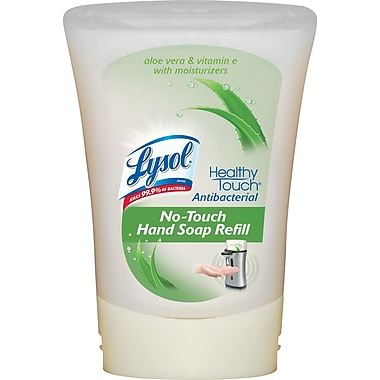 Lysol® No-Touch® Hand Soap Refill, Aloe Scent, Antibacterial, 8.5 oz.