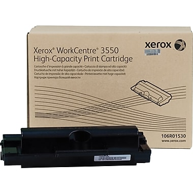 Xerox® Workcentre 3550 Black Toner Cartridge, High Yield (106R01530)