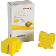Xerox ColorQube 8570 Yellow Solid Ink Sticks 2 Pack, (108R00928)