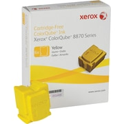Xerox ColorQube 8870 Yellow Solid Ink Sticks (108R00952), 6/Pack