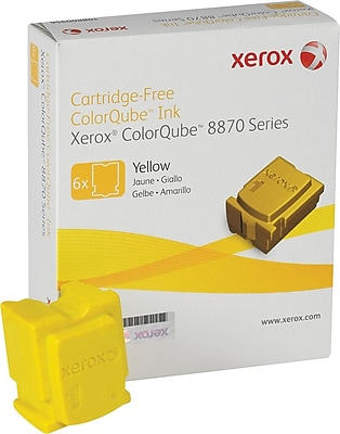 Xerox (108R00952) Yellow Solid Ink Sticks, 6/pack