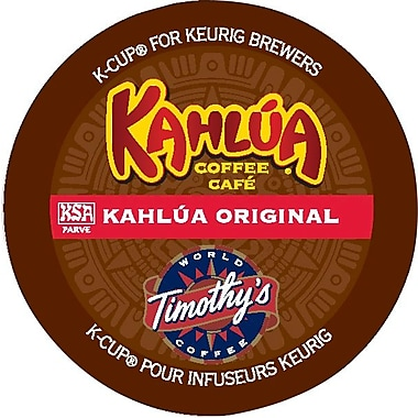 Timothy's Kahlua Original Coffee K-Cup Refills, 24/Pack