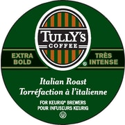 Tully's Coffee Italian Roast Extra Bold K-Cup Refills, 24/Pack