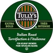 Tully's Coffee - Café à torréfaction italienne, très intense, recharges K-Cup, paq./24