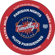 Timothy's Coffee Parisian Nights K-Cup Refills, 24/Pack