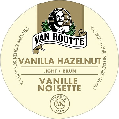 Van Houtte - Recharges K-Cup, vanille noisette, paq./24